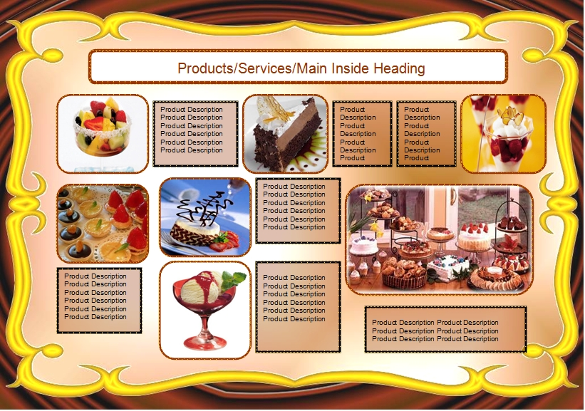 Food Brochures Samples