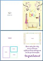 Baby Birth Card:New Baby Example