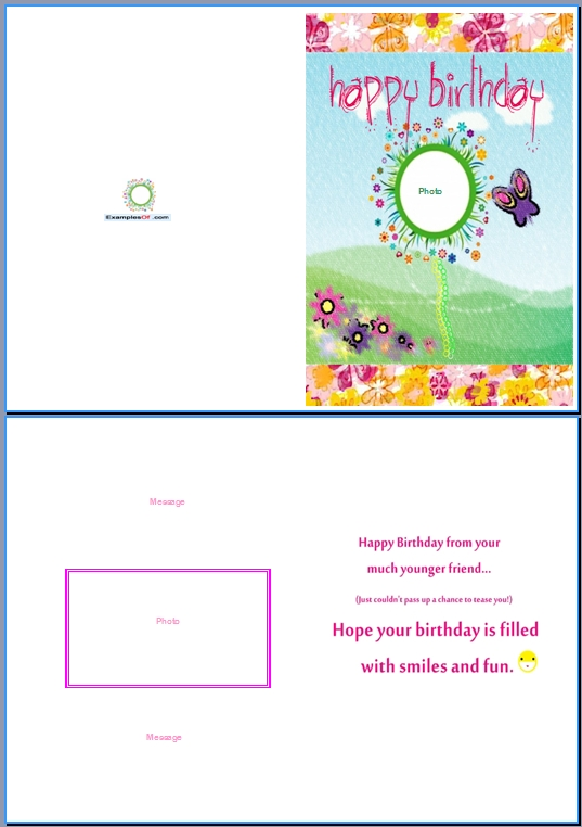 Sample Birthday Card - uprise.tk