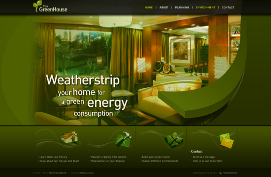 greenhouse html 5 example