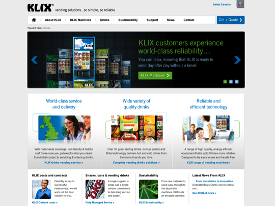 klix html 5 example
