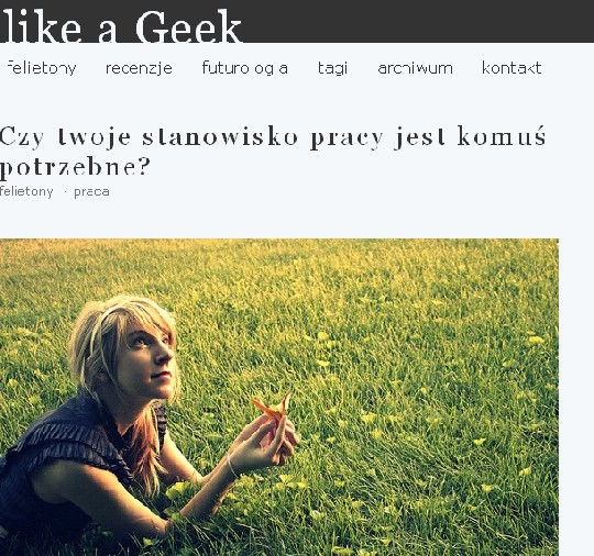 like a geek html 5 example