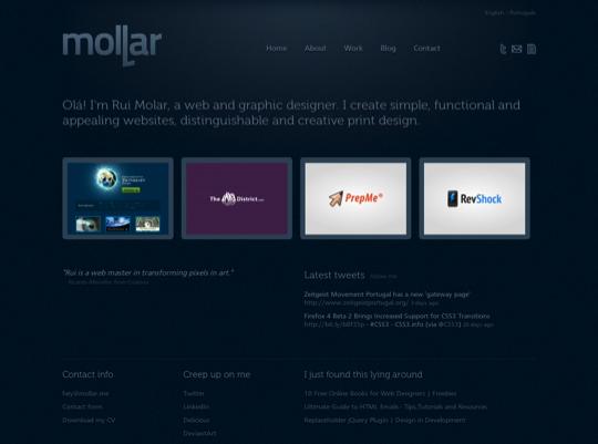 mollar html 5 example