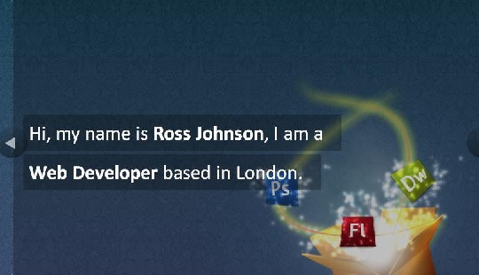 ross johnson html 5 example