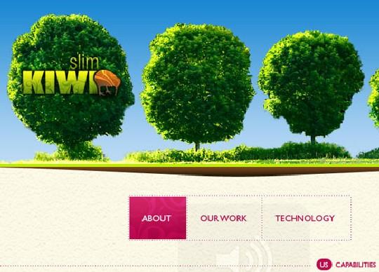 slim kiwi html 5 example