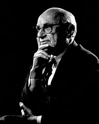 Milton Friedman, 31 July 1912 – 16 November 2006