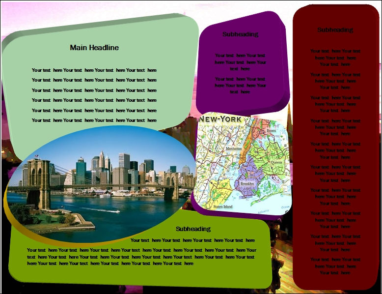 Travel Leaflets Samples