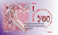 love you all the year card example
