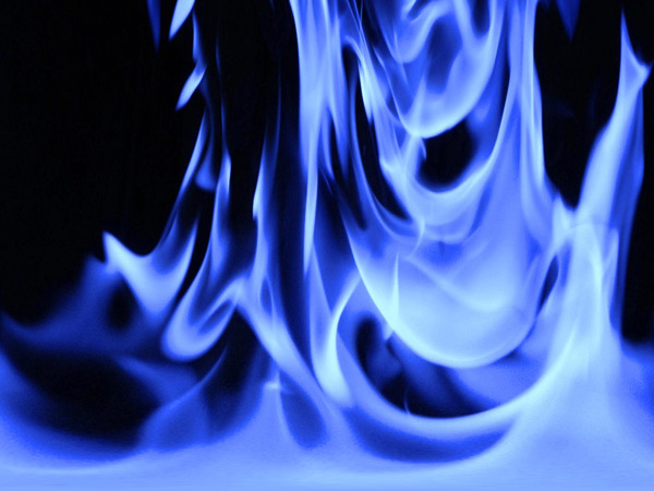 Example of Fire Photography