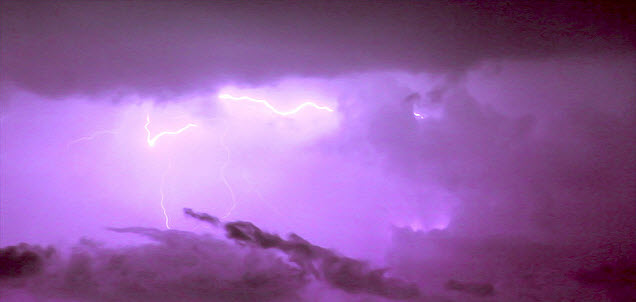 Example of Lightning Photography